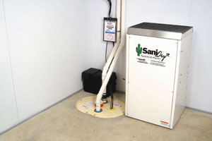 Basement Bar Dehumidifier